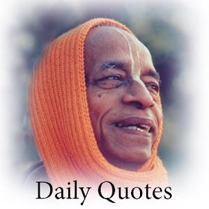 Prabhupada Daily Quote Gallery